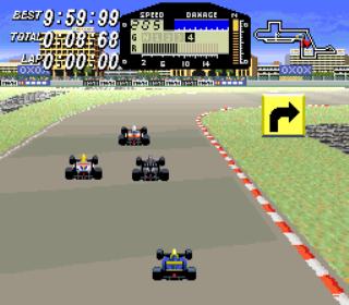 Exhaust Heat - F1 ROC - Race of Champions - Gameplay Screenshot 3