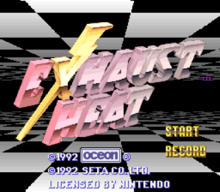Exhaust Heat - F1 ROC - Race of Champions - Title Screen