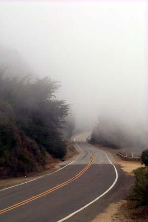 Lost highway fog