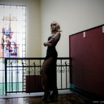 Parasite Eve Aya Brea cosplay girl