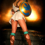 Sophitia Soul Calibur IV by AlisaKiss cosplay girl