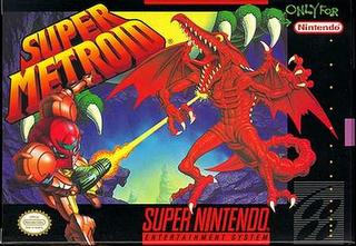 Super Metroid - Super Nintendo - Box