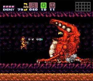 Super Metroid - Super Nintendo - Gameplay Screenshot