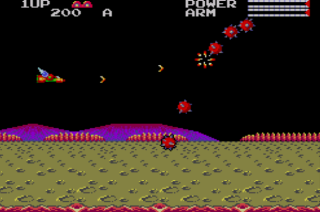 TransBot - Master System - Gameplay Screenshot
