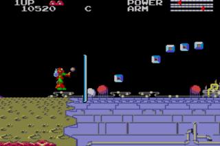TransBot - Master System - Gameplay Screenshot