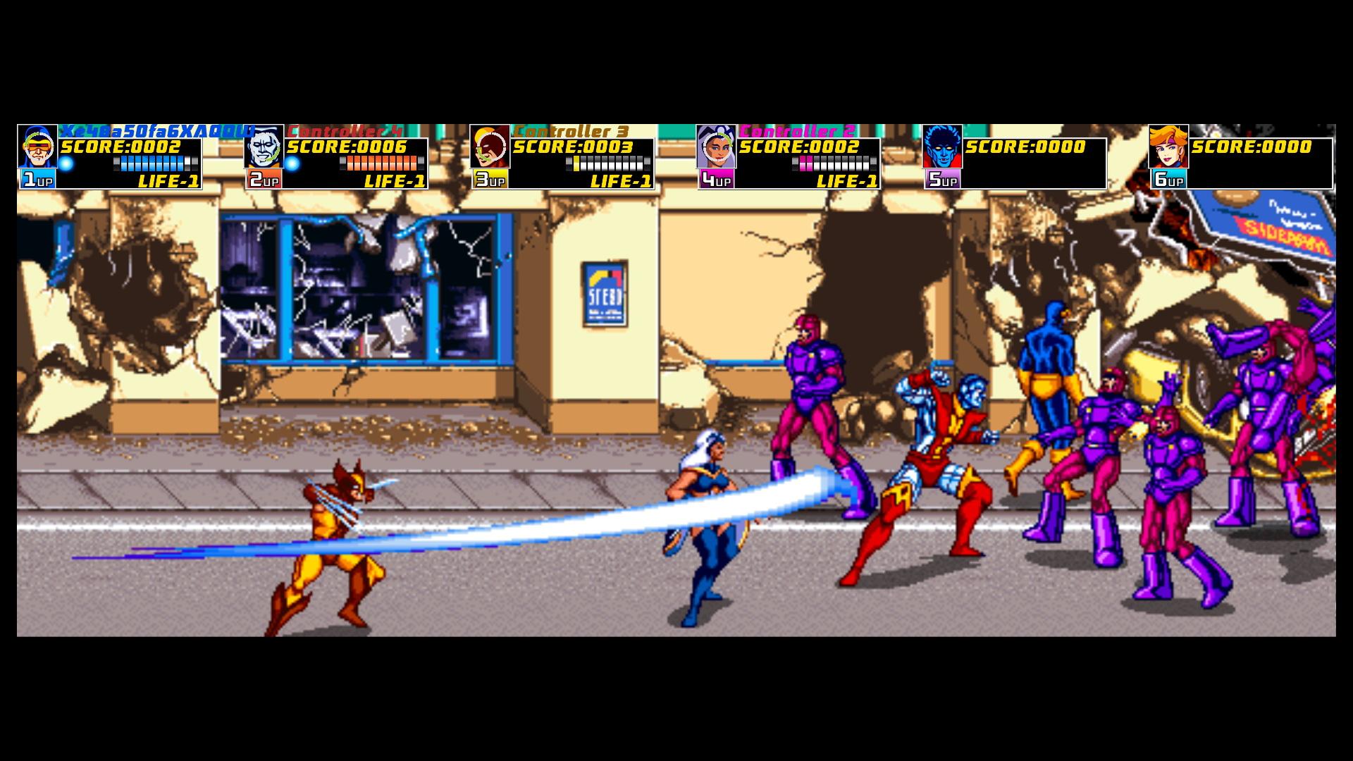 Xmen Arcade 2