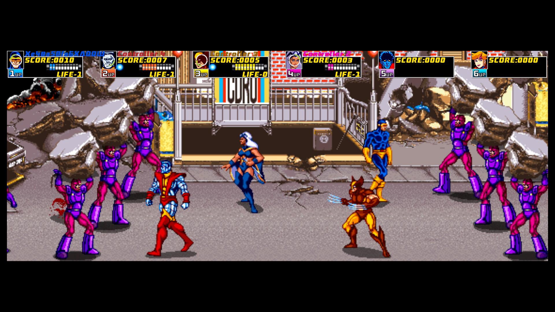 Xmen Arcade 3