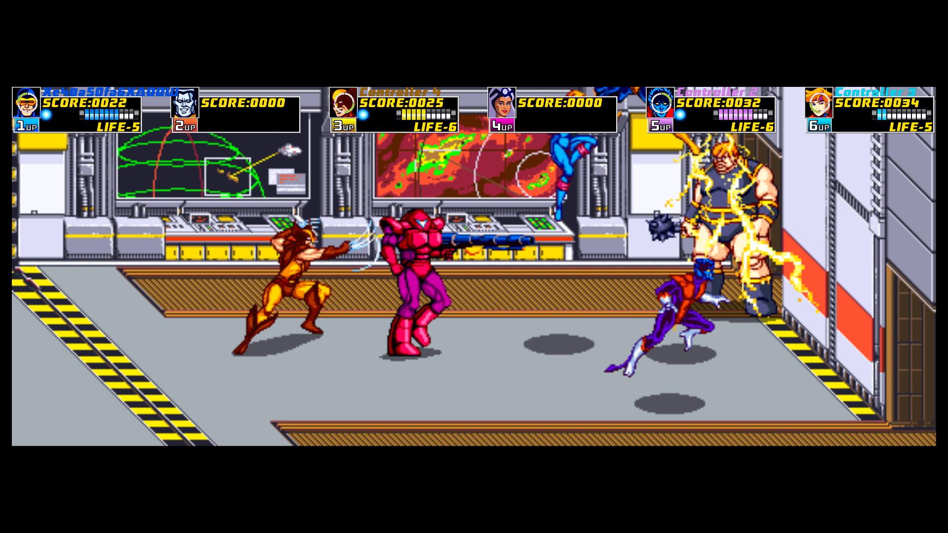 Xmen Arcade 4