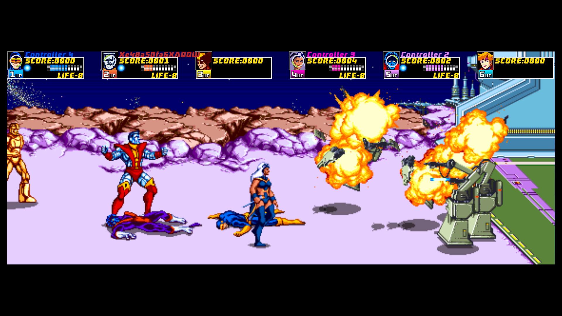 Xmen Arcade 5