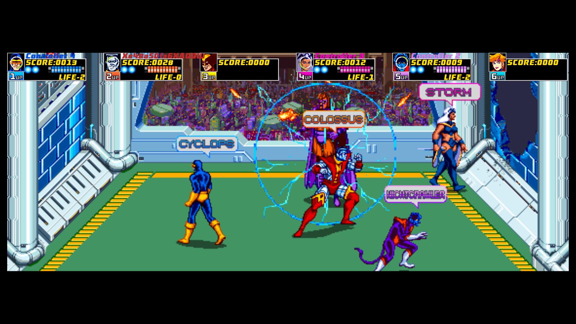 Xmen Arcade 6