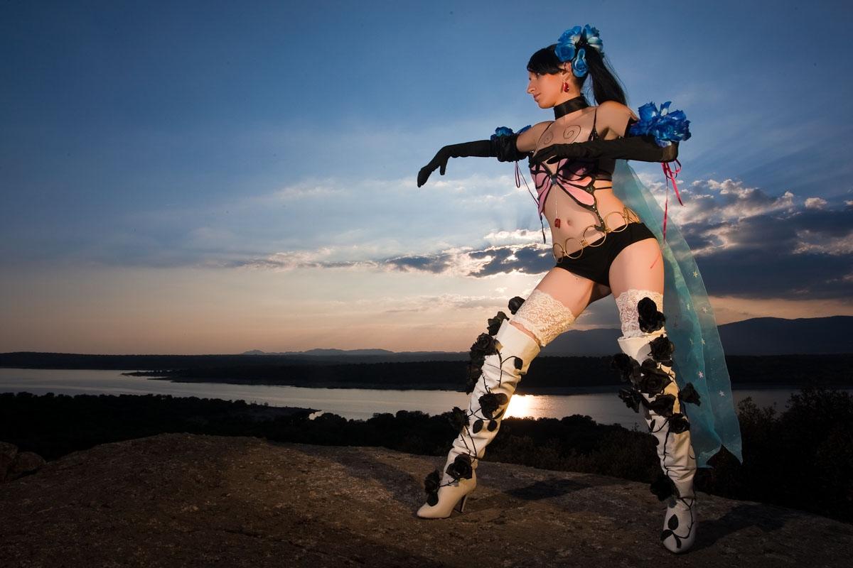 Zafina cosplay 04 Tekken 6 by Nebulaluben