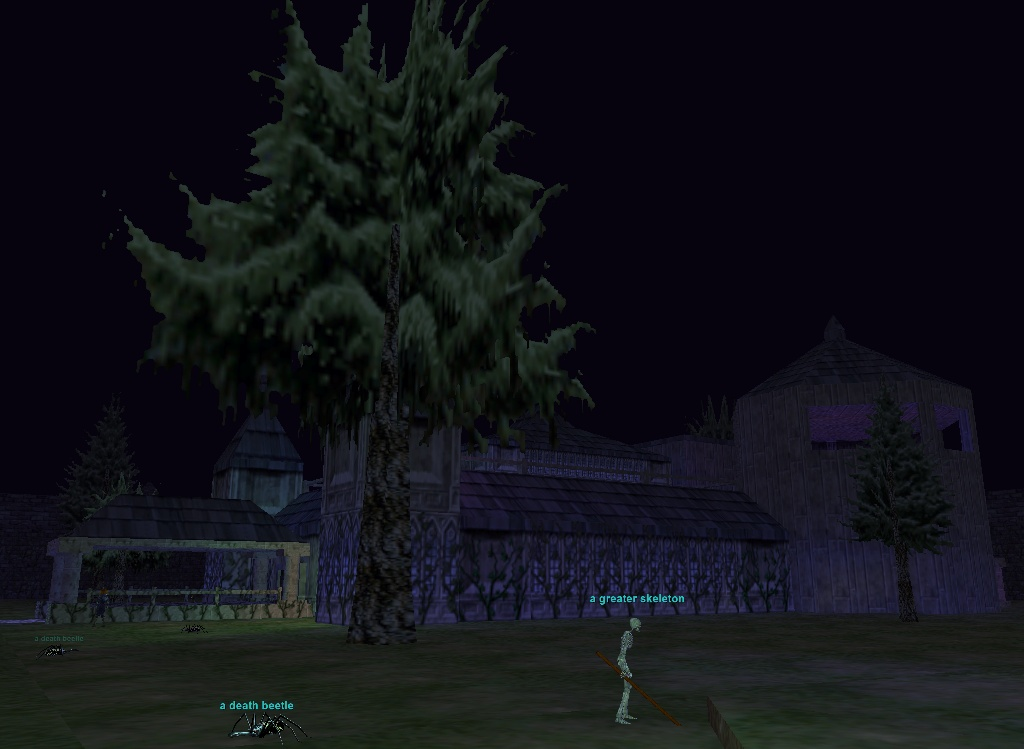 Everquest: The Estate of Unrest backyard
