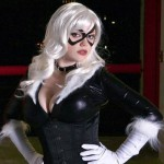 Black Cat cosplay girl