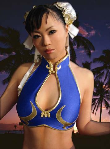 chun li cosplay girl