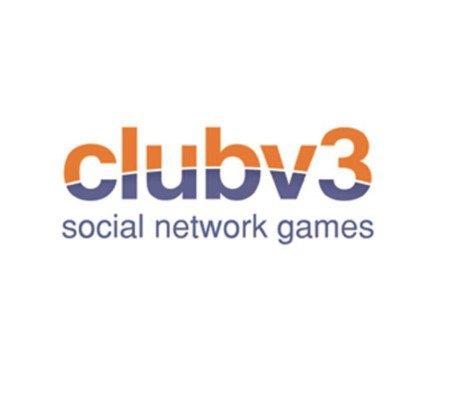 ClubV3 Social Network Games logo