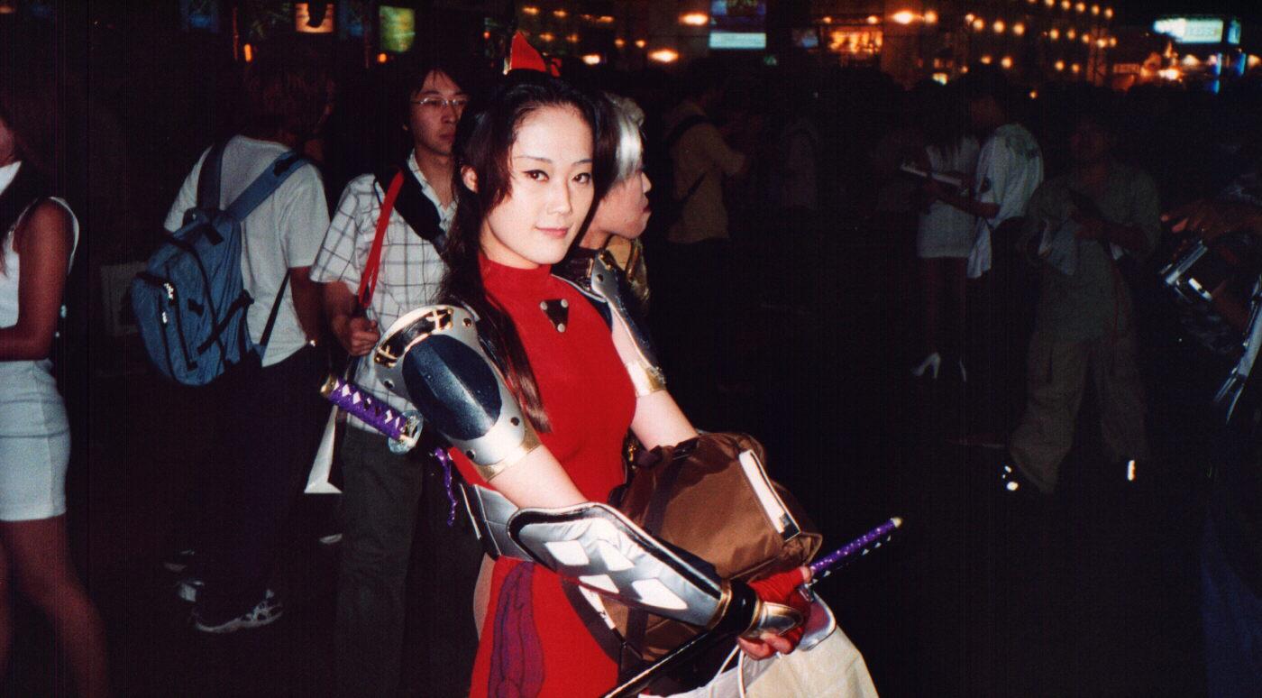 asian cosplay girl