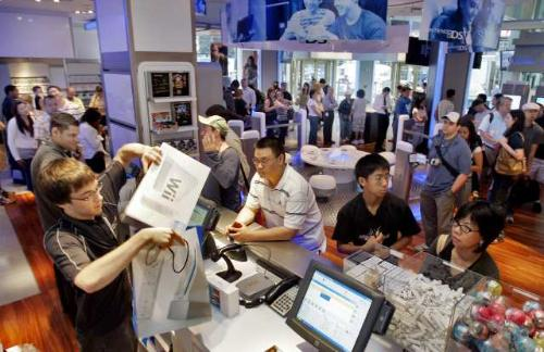 people buying nintendo wii