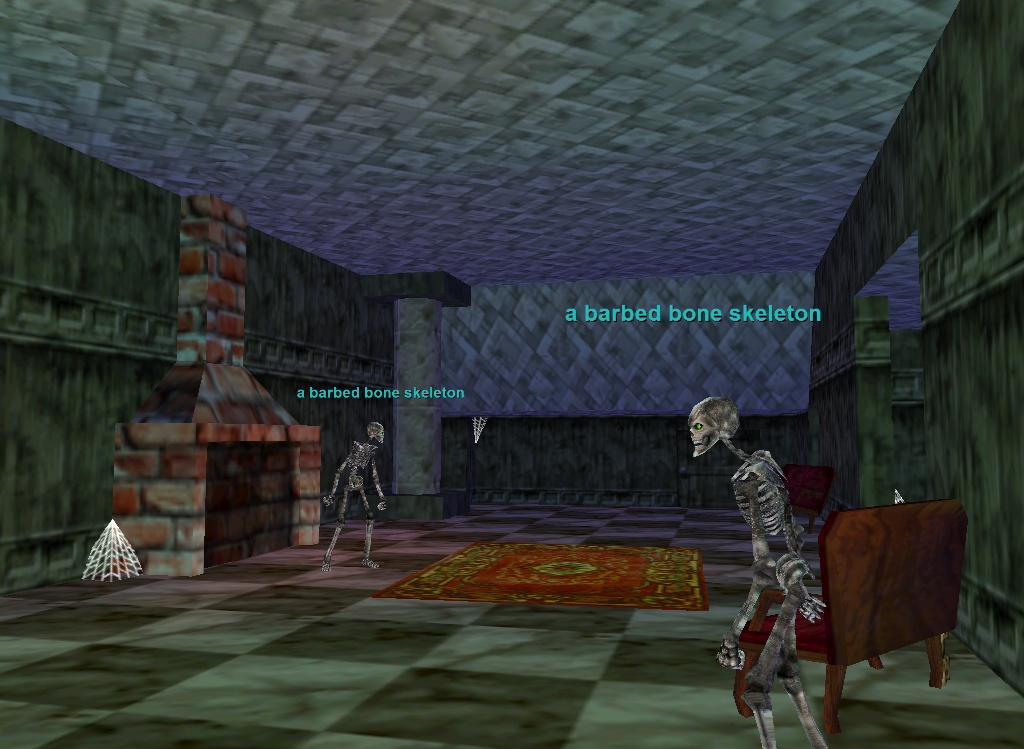 Everquest: The Estate of Unrest fireplace