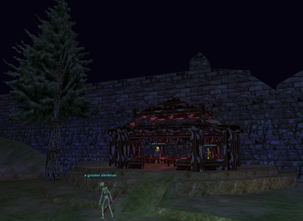 Everquest: The Estate of Unrest gazebo
