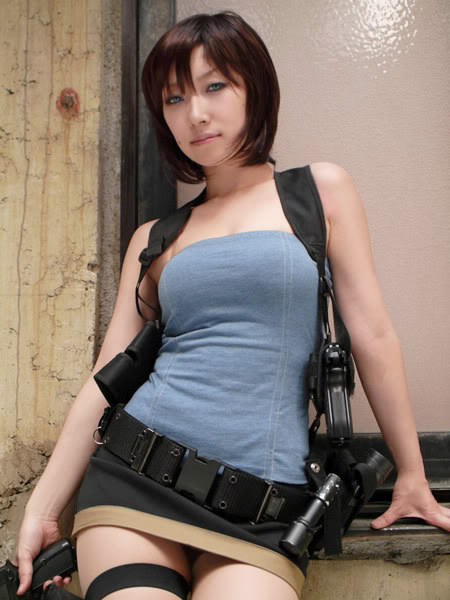 Jill cosplay girl
