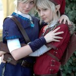 Zelda Link cosplay girls
