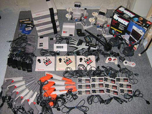 a lot of NES stuff