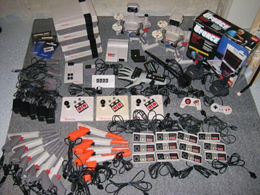 a lot of NES stuff