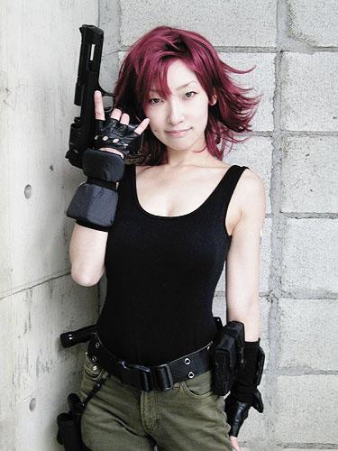 omi gibson meryl cosplay girl