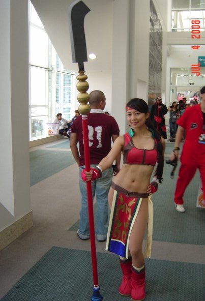soul caliber cosplay girl