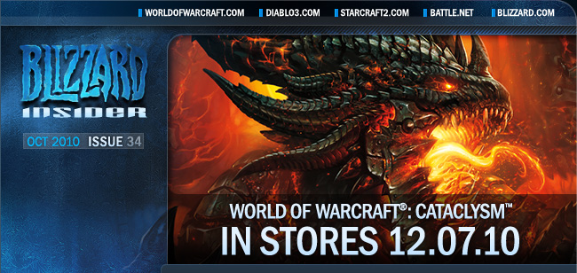 World of Warcraft Cataclysm release date
