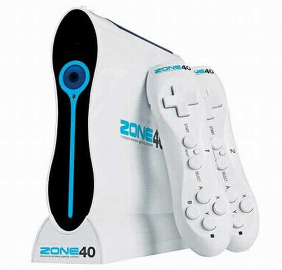 Zone 40 Wireless Gaming console