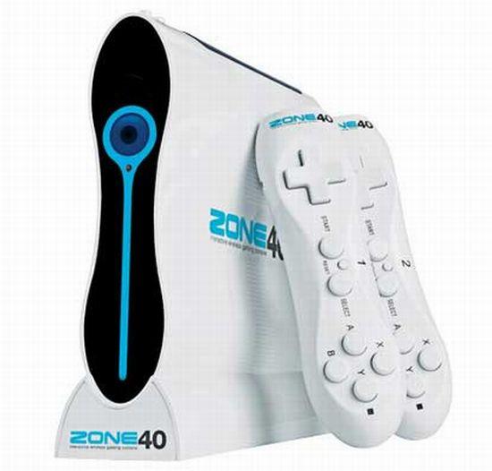 Zone 40 Wireless Gaming console