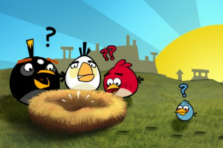 Angry Birds - Mobile Games - Gameplay Screenshot