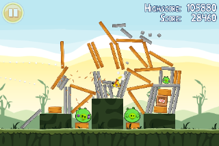 Angry Birds - Mobile Games - Gameplay Screenshot -