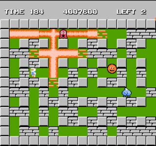 Bomberman - NES - Gameplay