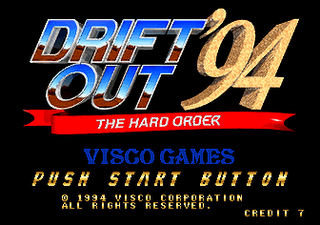 Drift Out '94 - The Hard Order - gameplay screenshot
