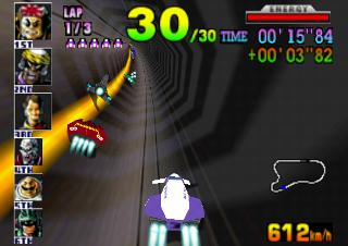 F-Zero X - Nintendo 64 Gameplay Screenshot