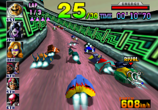 F-Zero X - Nintendo 64 Gameplay Screenshot