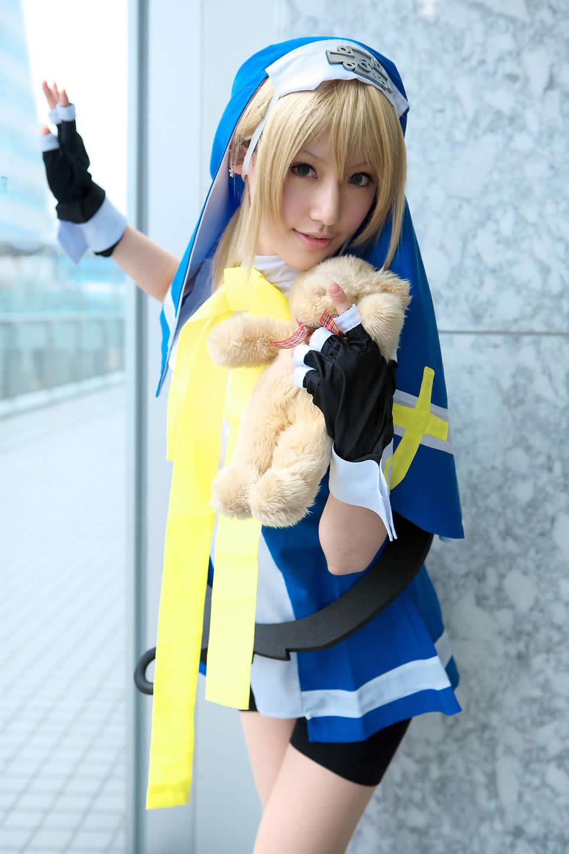 Guilty Gear cosplay girl