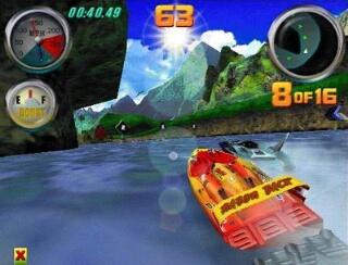 Hydro Thunder - Sega Dreamcast