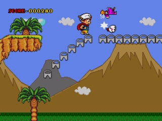 Magical Flying Hat Turbo Adventure - MegaDrive