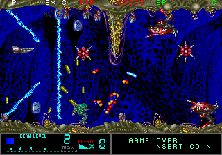 Metal Black - Arcade Gameplay Screenshot