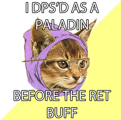 WoW Ret Cat