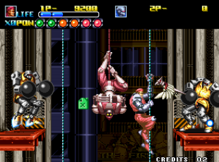 Robot Army - SNK - Gameplay Screenshot