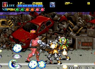 Robot Army - SNK - Gameplay Screenshot