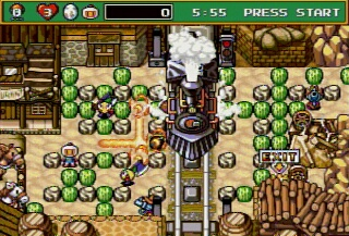 Sega Saturn - Bomberman