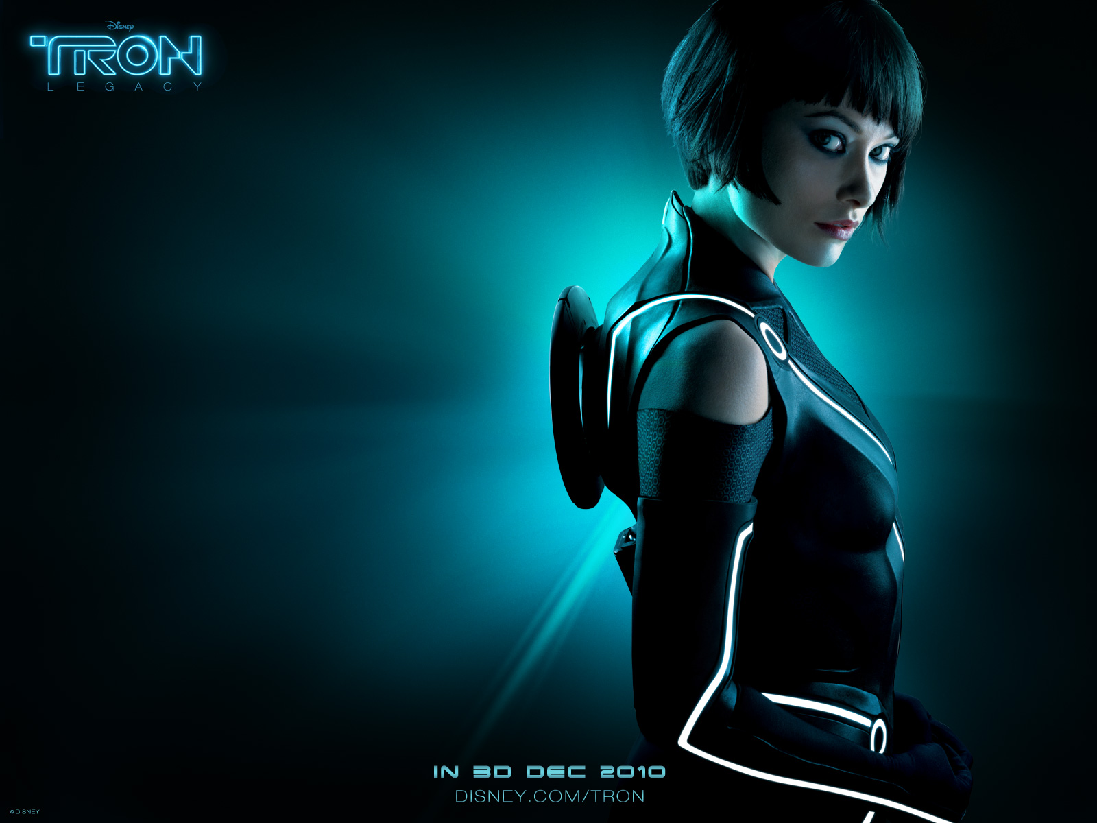 TRON hot girl