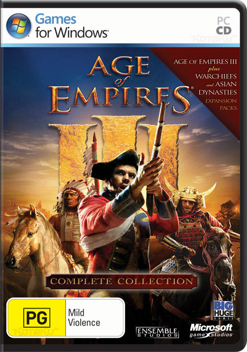 age of empires 3 cover