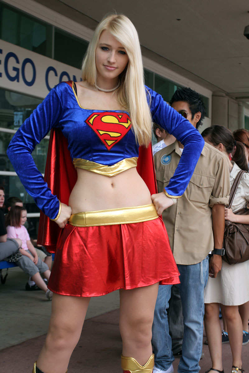 Supergirl cosplay hot girl