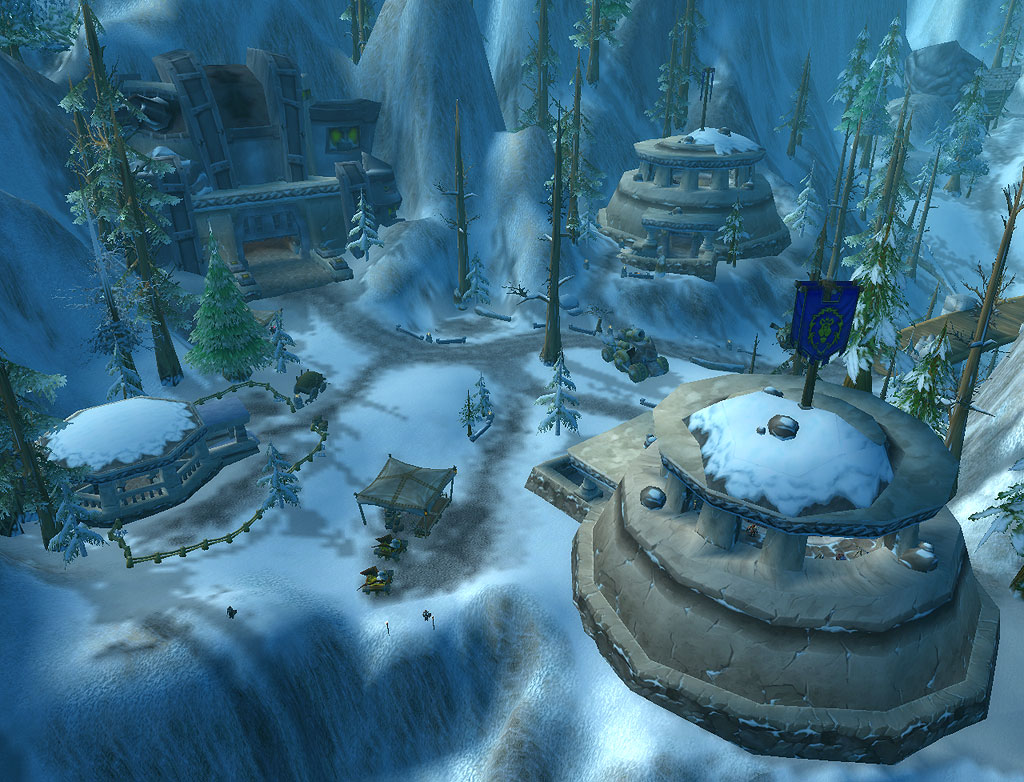 World of Warcraft Alterac Valley dunbaldar